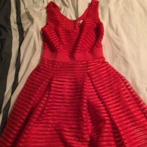 New York & Company Red Dress